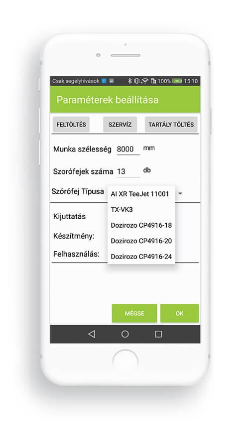 Temposensor basic képernyő 1