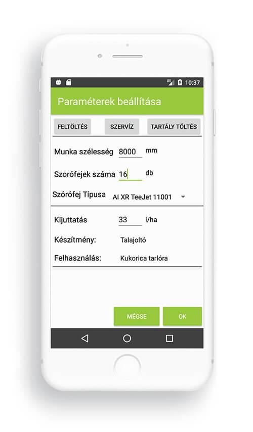 Temposensor basic képernyő 2